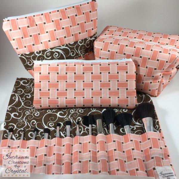 Mariah, Olyvia, Azalea & Krystle Padded Cosmetic Bags
