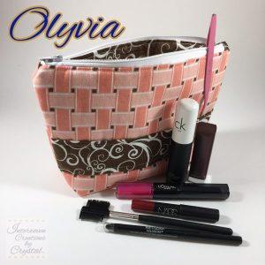 Olyvia Bag (Medium): 9 x 2 1/2 x 6 1/2