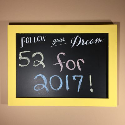 #52CreationsFor2017