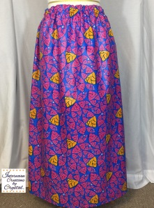 Blue, Pink & Yellow Monique Maxi Skirt