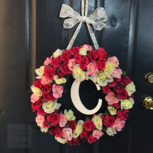 Interwoven Creations by Crystal Spring Floral Wreath