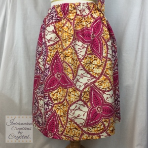 Pink, Yellow & Purple Skirt