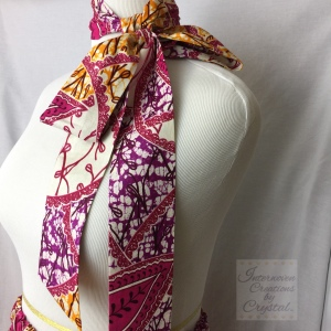 Pink, Yellow & Purple Scarf