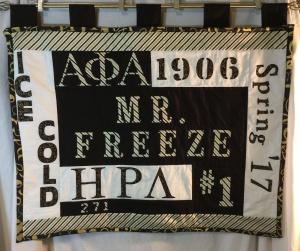 Alpha Phi Alpha Anniversary Quilt ~2018