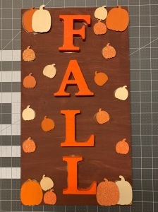 Fall 2019 Wood Sign
