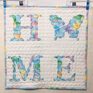 Spring HOME Wall Quilt ~ 2020