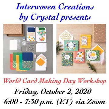 World Card Making Day Workshop